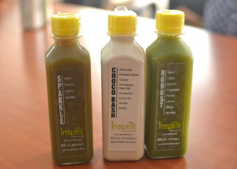 Inspirit Cleanse Juices