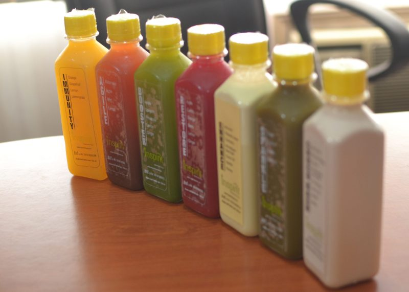 inspirit cleanse start smart juice cleanse
