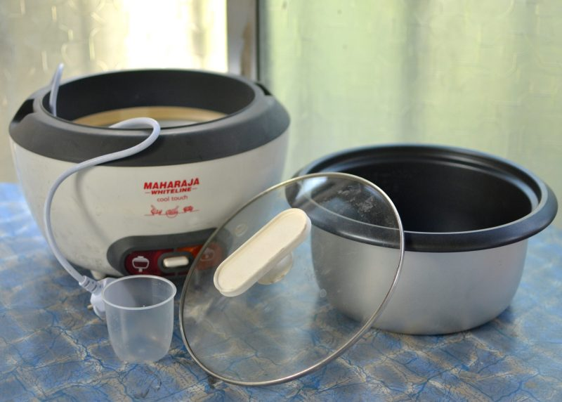 Maharaja Whiteline Cool Touch Rice Cooker
