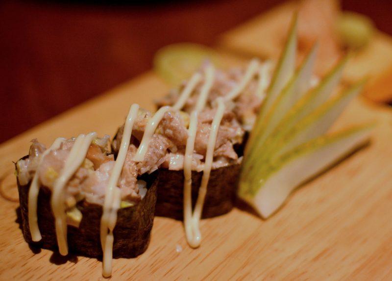 Tori Salad Sushi