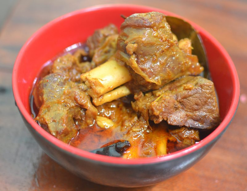 mutton cooked indian style
