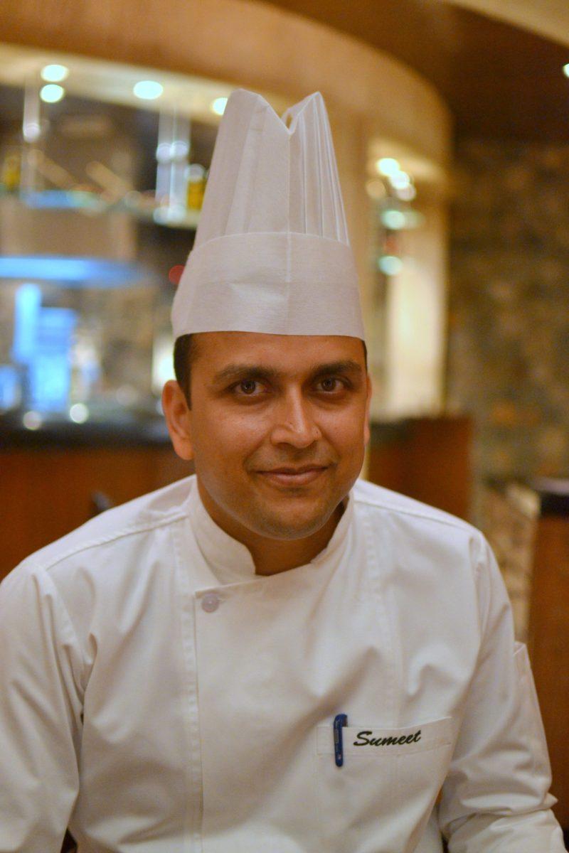 Chef Sumeet Priyadarshi