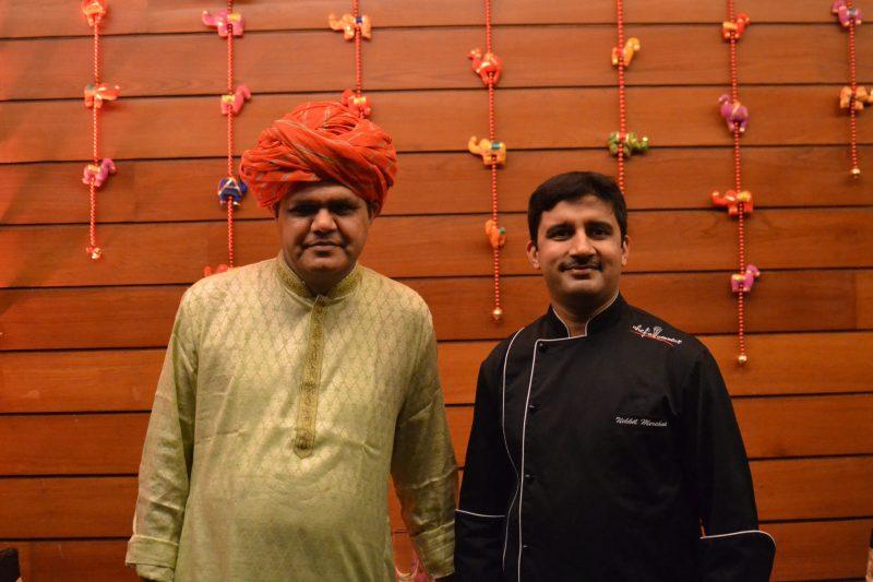 L-Kailash Maharaaj, R- NIkhil Merchant