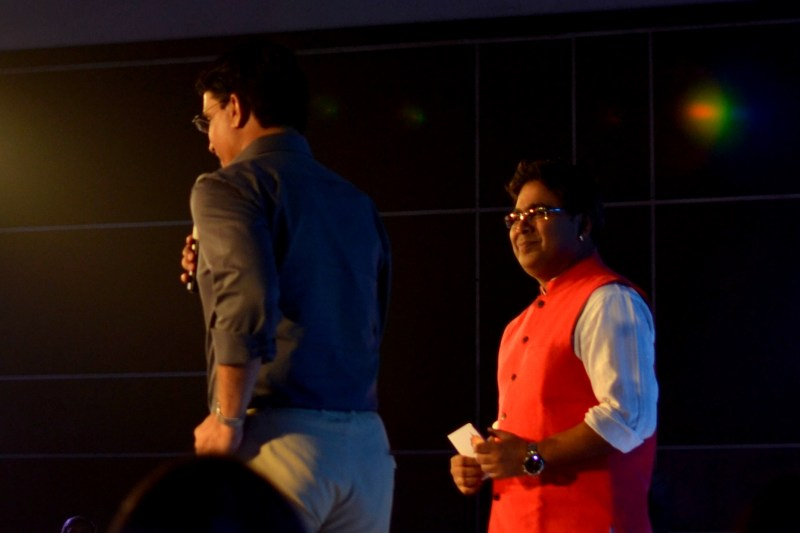 Mir and Sourav Ganguly