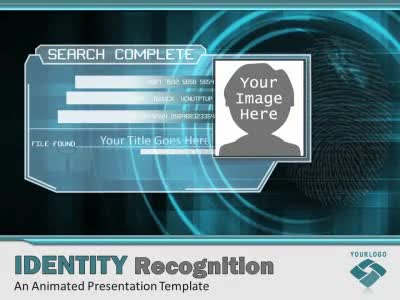 Identity Recognition A Animated PowerPoint Template From