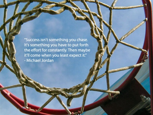 Motivational quote from Michael Jordan