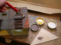 Come Colorare Le Casette Del Presepe Dipingere Ponte