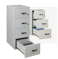 Fire record protection cabinet