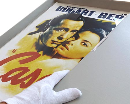 store a movie poster preservation