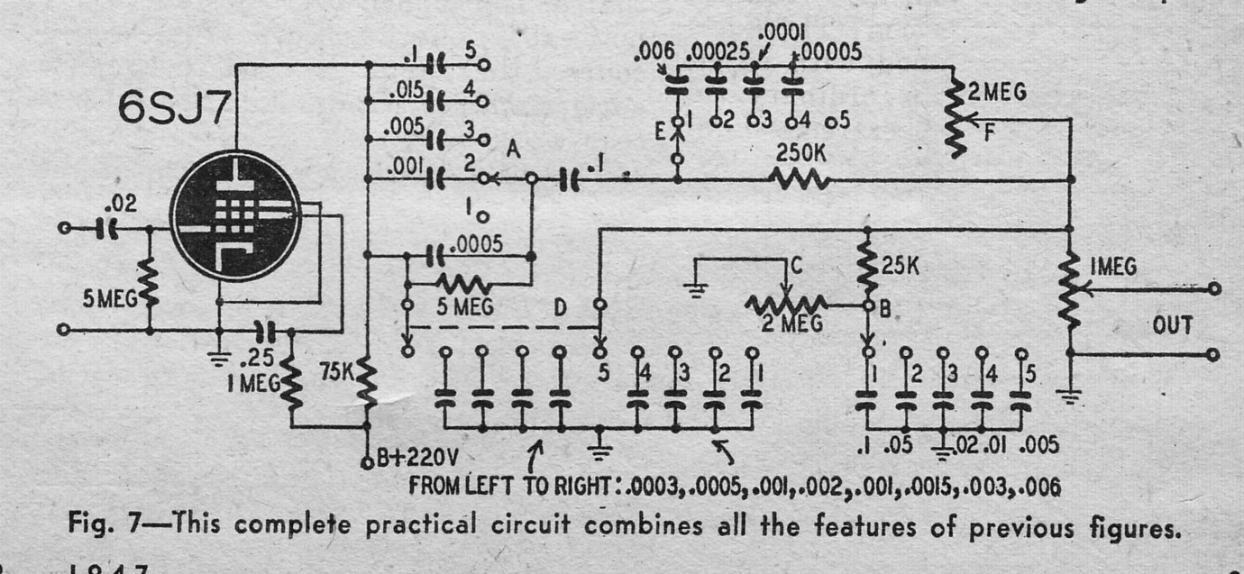 10 band equalizer circuit