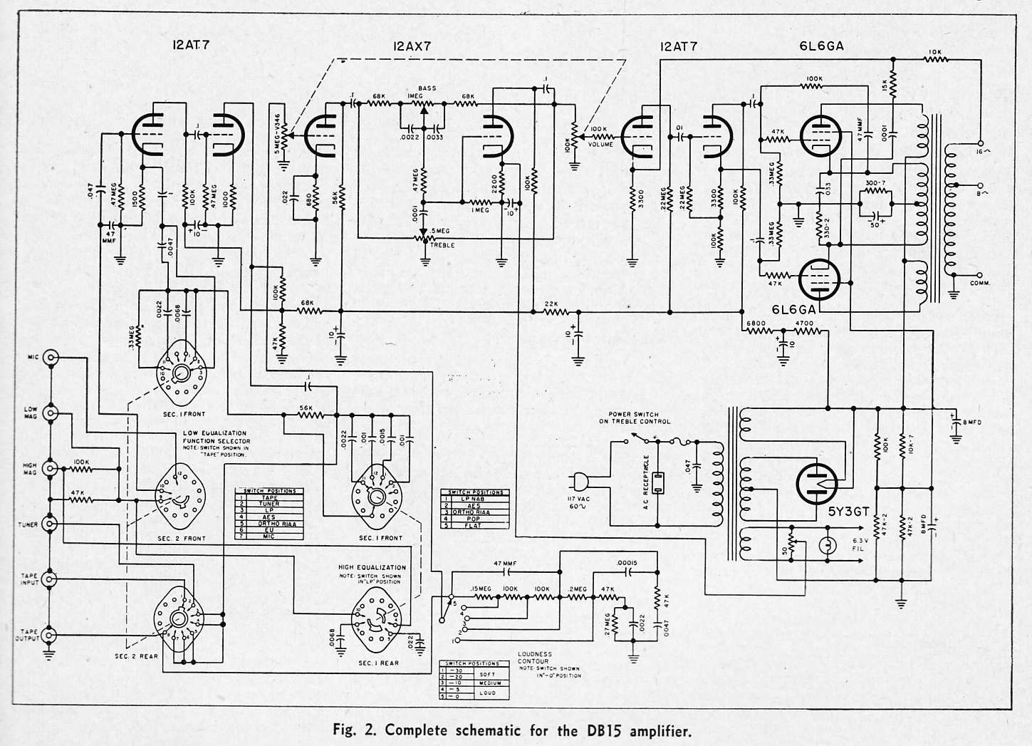 Transformer Wiring Diagrams For Guitar Amplifier