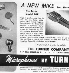 the turner model 20x microphone [ 1122 x 849 Pixel ]