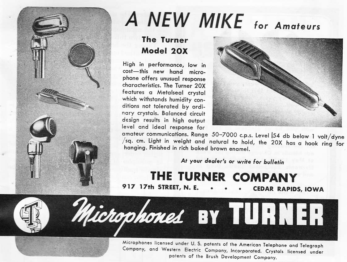 hight resolution of the turner model 20x microphone