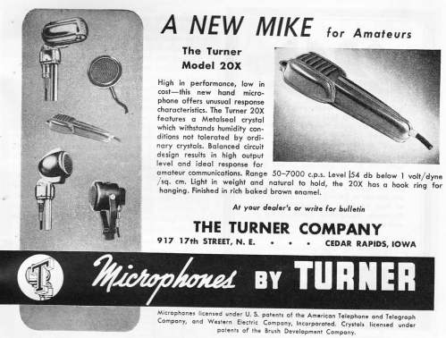 small resolution of the turner model 20x microphone