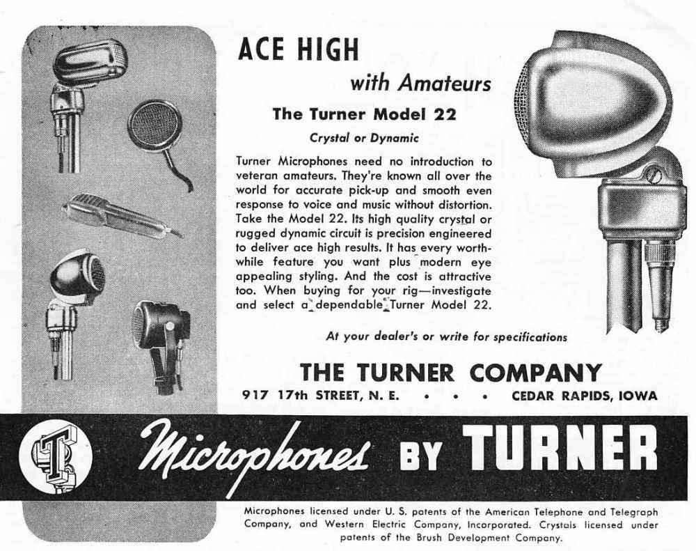 medium resolution of the turner model 20x microphone the