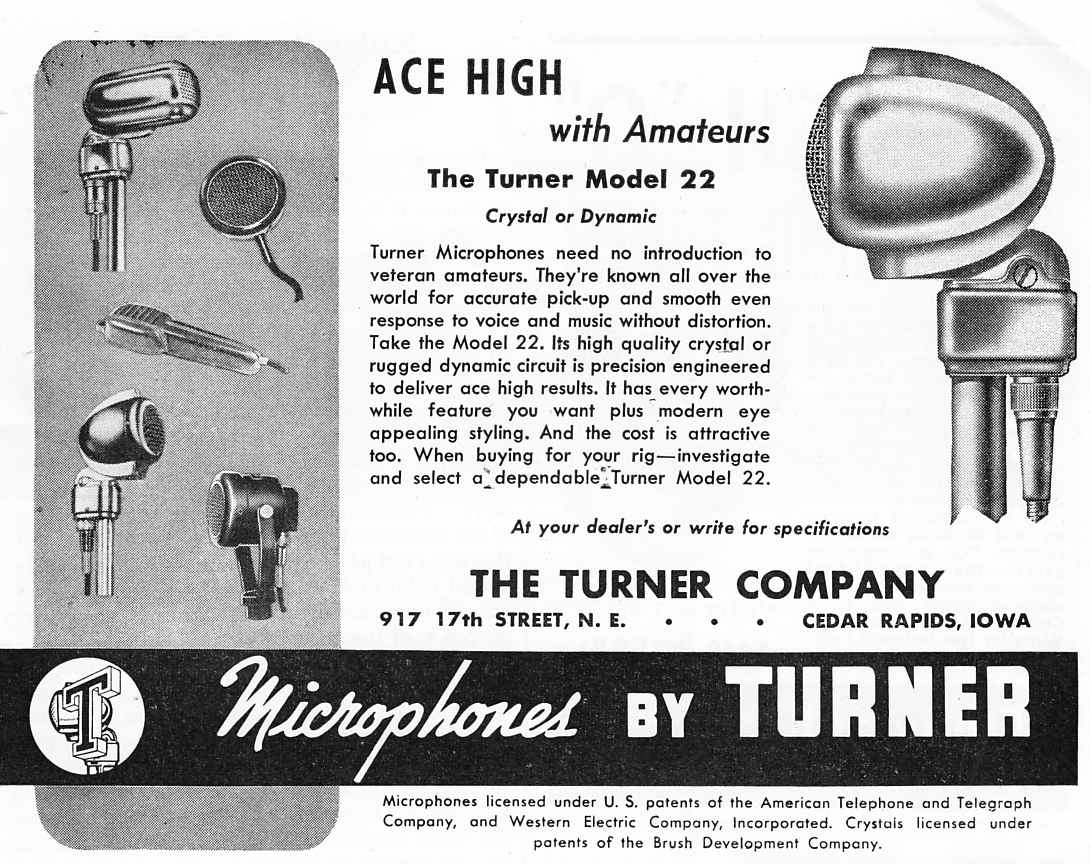 hight resolution of the turner model 20x microphone the