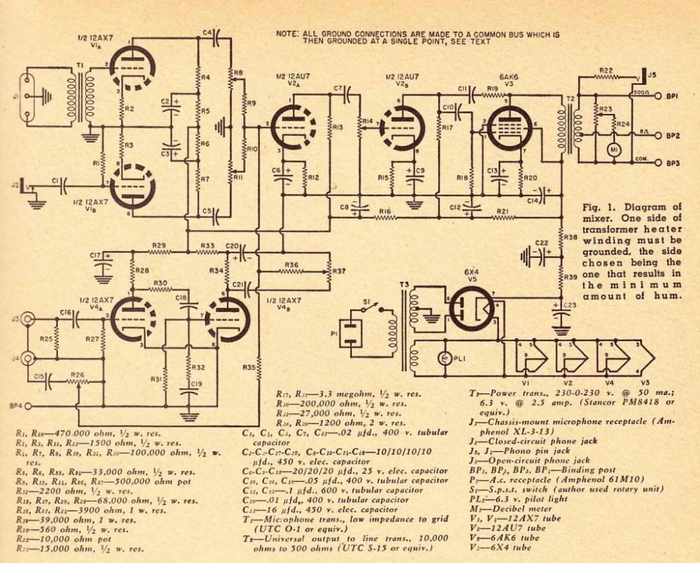 medium resolution of mixerschematics