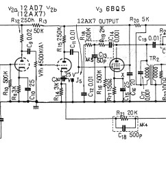 akai m7 right schematic mod 2 preamps in one [ 5000 x 1766 Pixel ]