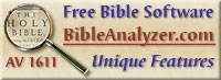 Bible Analyzer