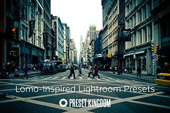 Lomo Lightroom Presets