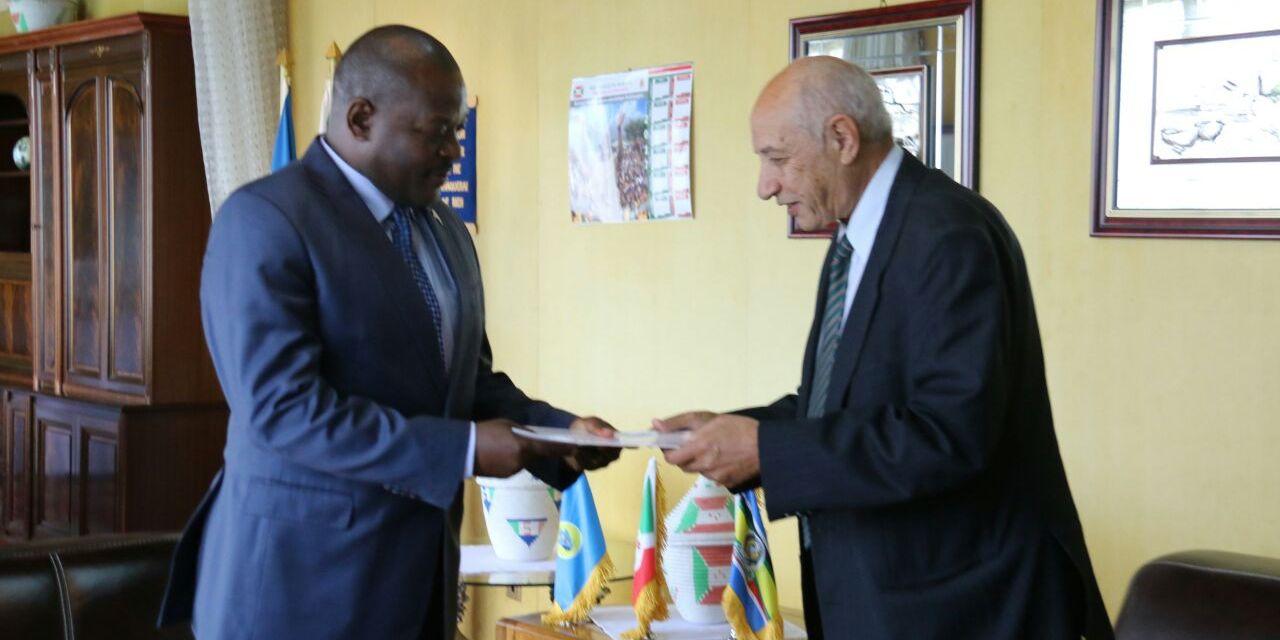L'Ethiopien Fasil Nahom Abagi reçu en audience à la Présidence du Burundi
