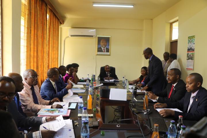 Le Deuxième Vice-Président de la République tient une réunion d'échange sur le Rapport Doing Business 2018