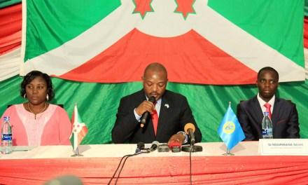 Le Chef de l'Etat Pierre NKURUNZIZA lance officiellement les travaux de l'Assemblée Générale du CNLS.