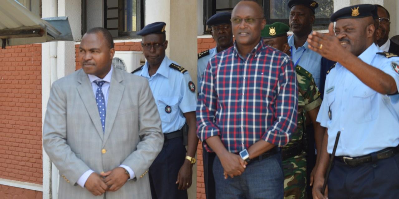 Visite du Premier Vice-Président au commissariat Général des migrations