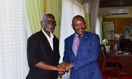 Le Président Nkurunziza a reçu en audience le 2ème Vice PremierMinistre ougandais