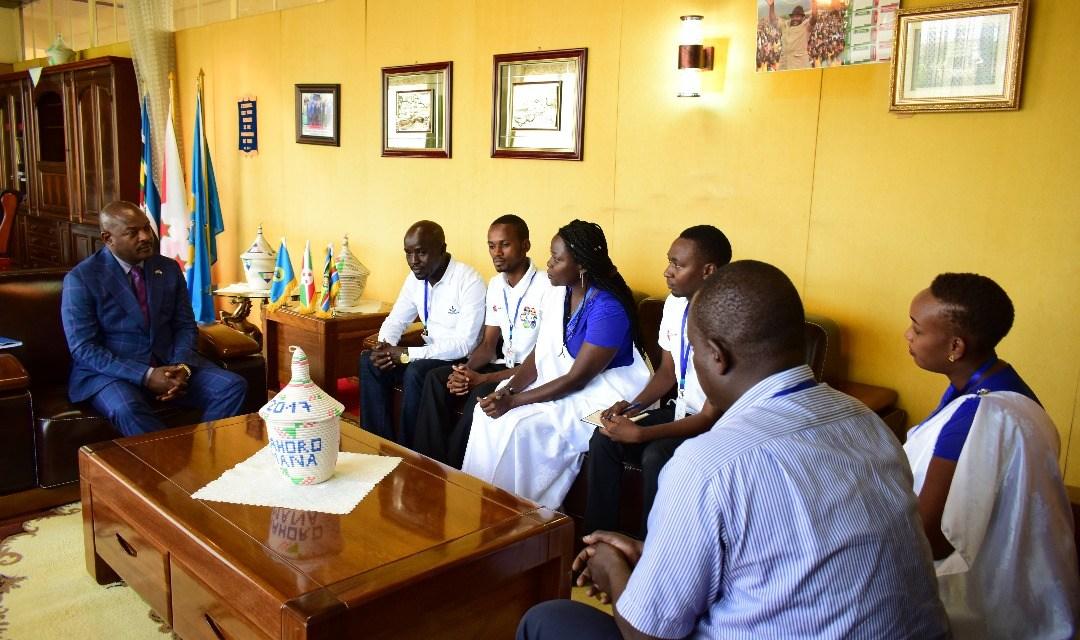 Le Président Nkurunziza a accordé une audience à la délégation du Groupe Afrika Mashariki Fest.