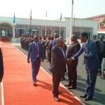 Départ de Son Excellence Monsieur le Deuxième Vice Président pour participer au sommet des pays membres de l'Initiative du Bassin du Nil