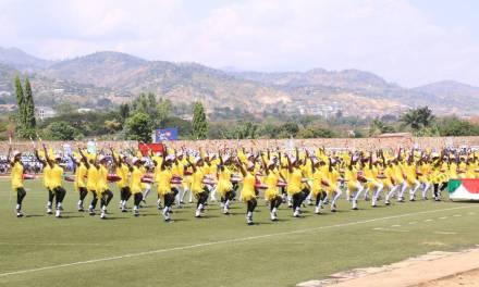 Au stade Prince Louis Rwagasore, des cérémonies de commémoration de l'indépendance riches en couleurs.
