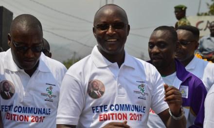 Le Premier Vice-Président à Mukaza pour la célébration de la fête communale