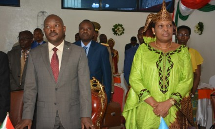 Son Excellence Pierre Nkurunziza a participé à la 12ème édition du National Prayer Breakfast