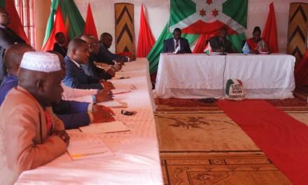Le Chef de l'Etat réunit les gouverneurs des Provinces à Muyinga