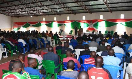 Son Excellence Pierre Nkurunziza anime une séance de moralisation à Kirundo