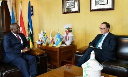 Son Excellence Pierre Nkurunziza reçoit en audience l'Ambassadeur des Pays- Bas au Burundi