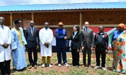 Un hôpital équipé d'un centre Egypto-Burundais ouvert par le Chef de l'Etat à Musenyi