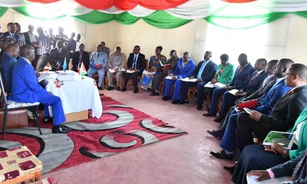 Le Chef de l'Etat réunit les gouverneurs de provinces