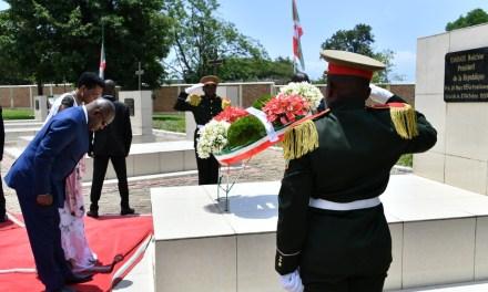 Commémoration de l'assassinat de feu Président Melchior Ndadaye