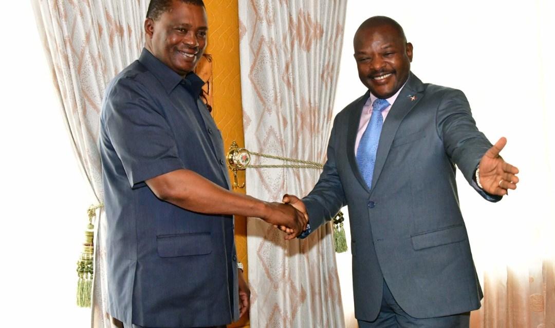 Le Chef de l'Etat reçoit en audience le Président de l'Assemblée Nationale du Kenya