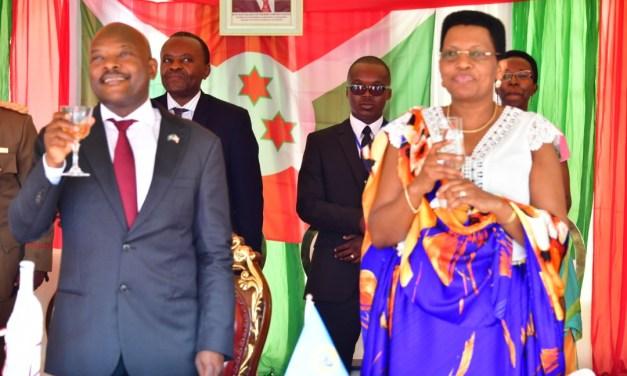 Le Couple Présidentiel échange les vœux de 2019 avec les corps de défense et de sécurité