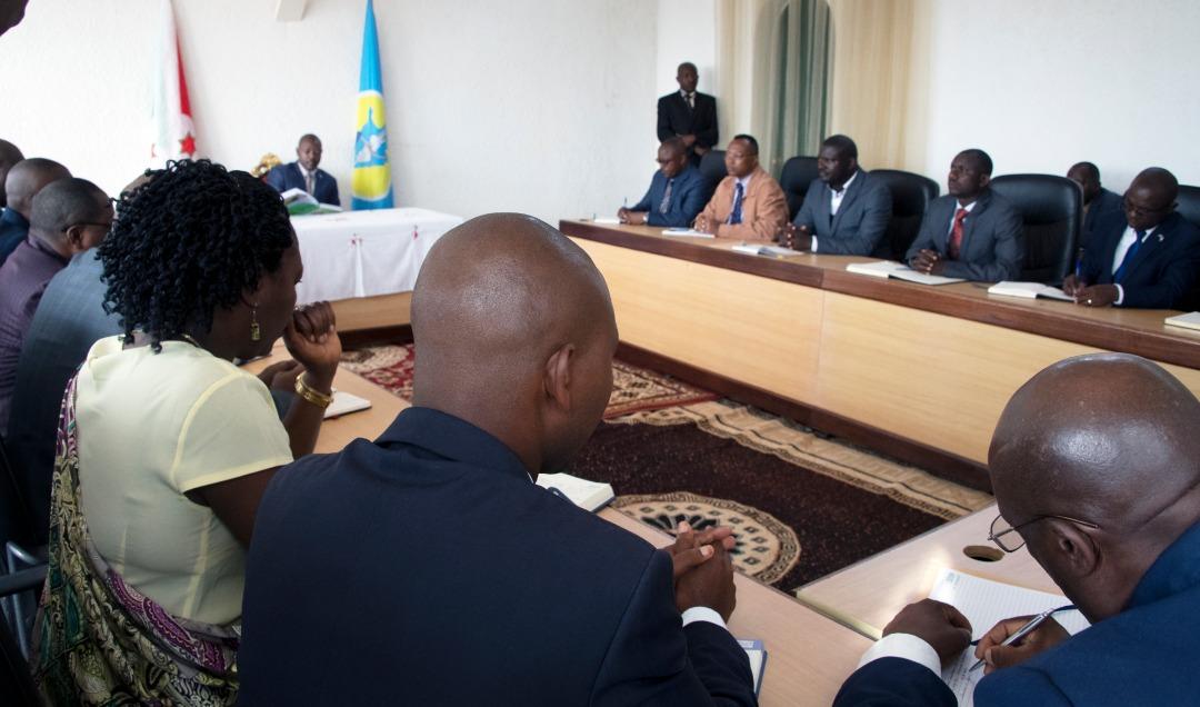 Le Chef de l'Etat en 1ère réunion de l'année avec les Gouverneurs des provinces