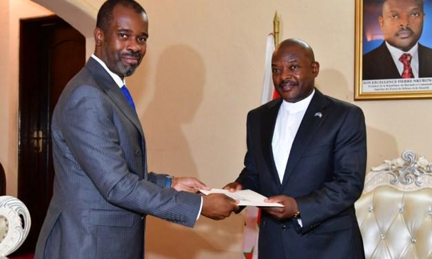 Le Chef de l'Etat reçoit un envoyé spécial du Président de la RDC