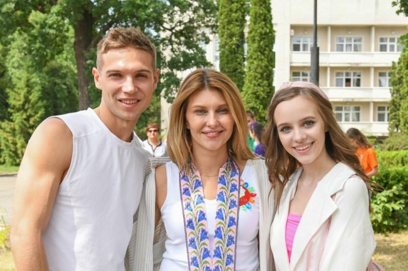 Олена Зеленська відвідала табір «Артек», який святкує 94-ту річницю заснування
