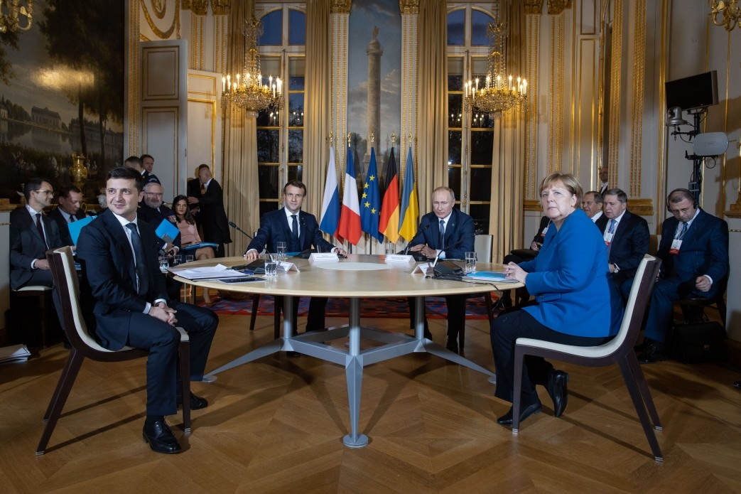 Встреча четырех лидеров стран – участниц Нормандского формата