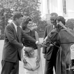 JFK's Ponies, Tex and Leprechaun
