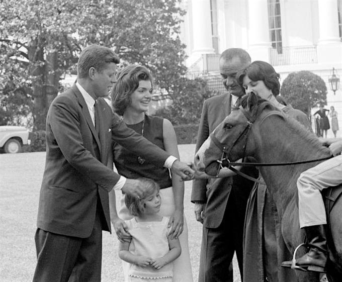 JFK's Ponies, Tex and Leprechaun
