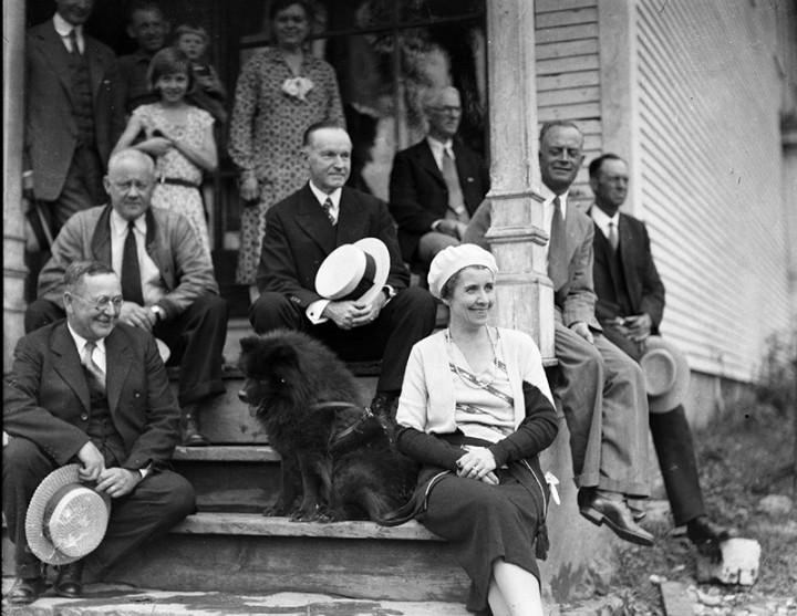 Calvin Coolidge's Blackberry