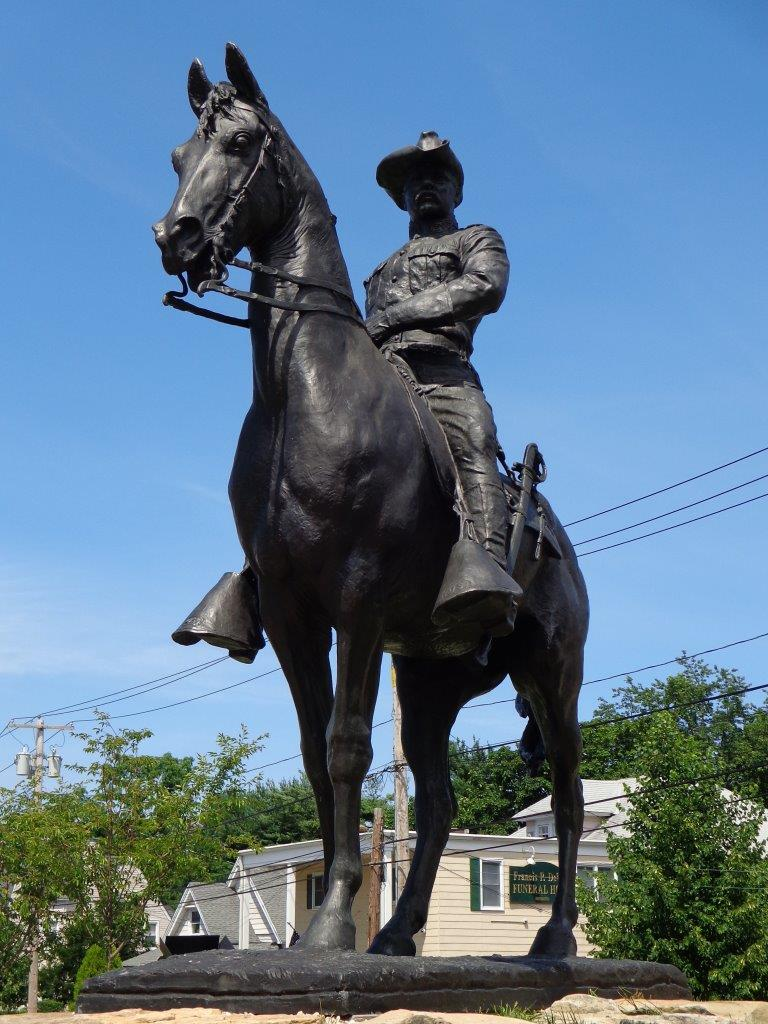 Theodore Roosevelt Rough Rider Statue  Oyster Bay New York
